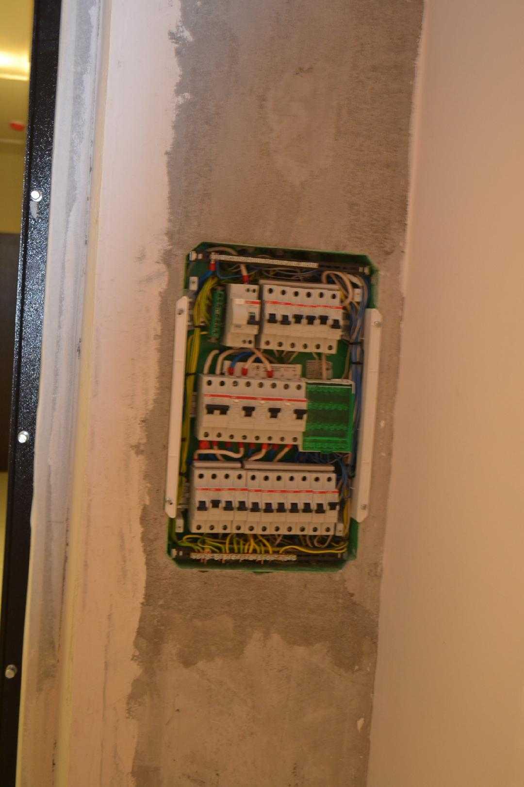 Схема электропроводки в однокомнатной квартире