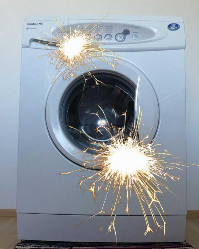 Стиральная машина бьет током: что делать и как исправить, способы исправления