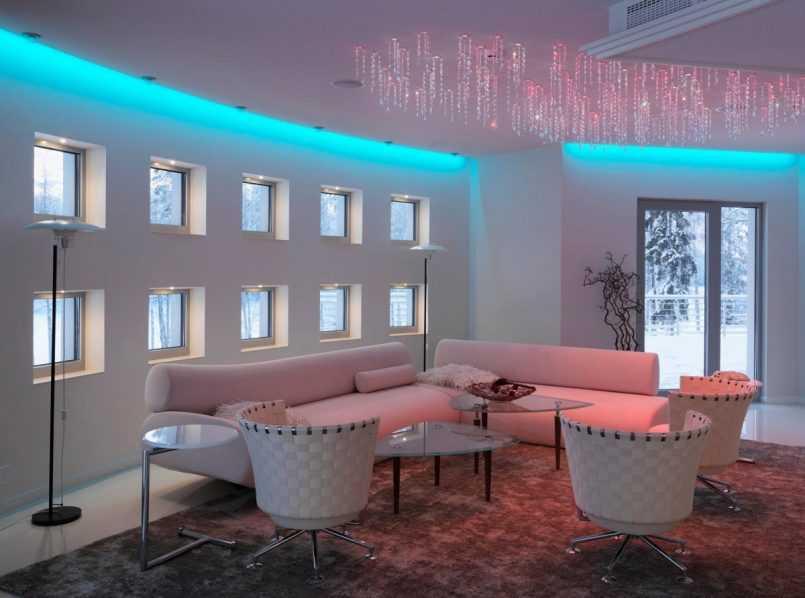 Освещение в квартире: современные виды трекового и умного света для помещений с фото